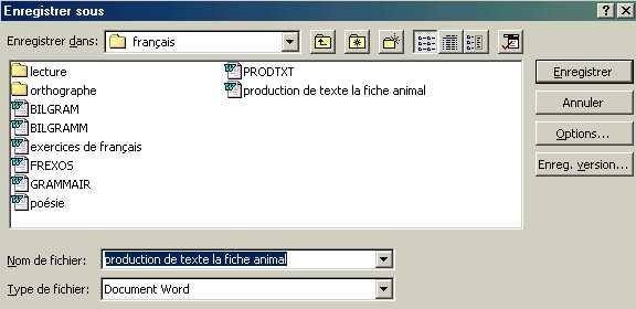 enregistrer une seule page word en pdf